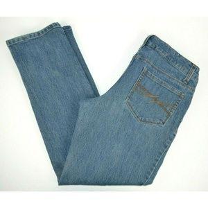 Faded glory Straight Leg Blue Jeans